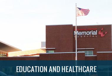 education and healthcare